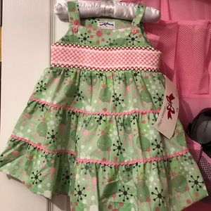 Other - Silly Goose Smocked Dress size 12 mo